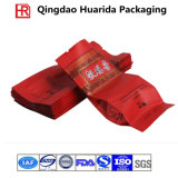 Customized Side Gusset Aluminum Foil Plastic Tea Packaging Bag with Colorful Printing