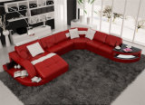 Home Furniture New Design Living Room Leather Sofa (HC1100)