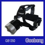 Super Bright CREE T6 LED Rechargeable Head Lamp/LED Headlamp/LED Headlight