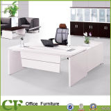CF Aluminum Frame White Office President Desk Furniture