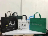 Hot-Stamp Shaped Non-Woven Shopping Bag with Custom Logo