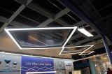 LED Linear Suspended Fixture for Open Office with Dlc