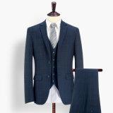 Wholesale Stripe Check Woolen Wedding Man Suit