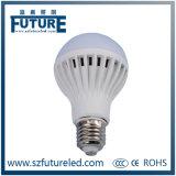 7W Plastic and Aluminum LED Lighting E27 LED Light Bulb