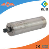 Water Cooled CNC Router Spindle Motor 1.2kw for Metal Carving 1000Hz 60000rpm