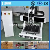 Cheap Advertising Mini CNC Router for Brass Aluminum Wood Engraving