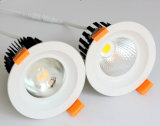 10W Dimmable Epistar COB LED Ceiling Down Light