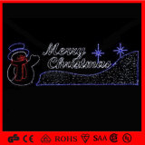LED 3D Rope Waterproof Merry Christmas Letter for Xmas Day