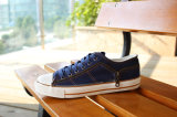Men Canvas Shoes with Vulcanized Rubber Outsole (SNC-03022)