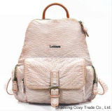 New Style Good Quality PU Woman Fashion Backpack