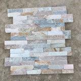 Natural Stone Cream Slate Wall Ledgestone Panels (SMC-SCP303)