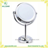 Hotel Desktop Double Sided Mirror with LED Light