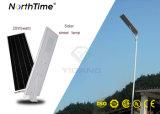 IP65 High Lumen Bridgelux LED Solar Street Lighting with Sensor