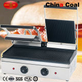Commercial Indoor Electric Panini BBQ Contact Grill