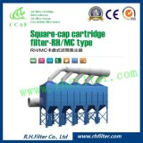 Vertical Cartridge Dust Collector for Generator Air Inlet