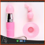 Multi-Top Triple-Top Sexy Mini AV Massager Multi Speed of Vibrating Sex Toy for Woman