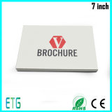 High Quality LCD Video Greeting Card/ LCD Brochure