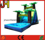 Small Tropical Type Kids Inflatable Water Slide for Yard