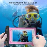 Universal Clear Transparent Waterproof Cellphone Case Cover Dry Bag for iPhone Outdoor Activitie Swimming Surfing Fishing Skiing
