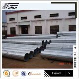 Galvanized 12m 14m Power Pole Made of Hot Alloy Steel