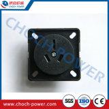 Australia Black 15A Socket Generator Spare Parts Generator Parts