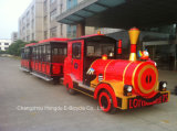62 Seats New Design Tourist Sightseeing Electric Train for Park or Resort