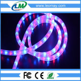 IP65 Waterproof 3 Wires Round Horizontal LED Rope Light