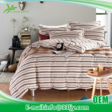Professional Cotton Pink and Green Bedding for 5 Star Hotel