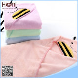 Wholesale Emboidered Organic Cotton Terry Hooded Baby Towel