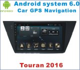 Android System 6.0 Car GPS for Touran 2016 with Car DVD