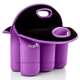 New Style Neoprene 6 Pack Bottle Carrier with Tote