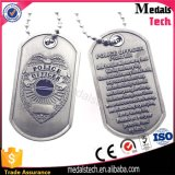 Die Casting Zinc Alloy 2mm Thickness Metal Army Dog Tags