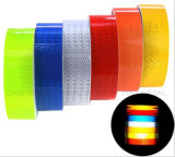 Hot Selling Colorful Sticker Reflective Safety Warning Tape Film (C3500-O)
