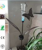 Metal Craft Iron Butterfly Craft with Solar Light for Garden Decoration Homeware
