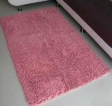 Polyester Chenille High Pile Floor Carpet with Anti Slip Base