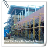 Mobile Aluminum Frame Scaffold for Concrete Construction