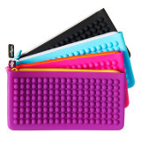 New Arrival Cool Office Silicone Pencil Bag