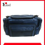 Blue Rectangular Tackle Fishing Bag