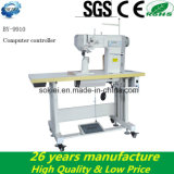 Heavy Duty Post Bed Computer Roller Feed Double Needles Sewing Machine for Shoes