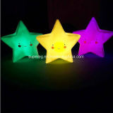 Novelty Star Smile Face for Kids Night Light