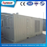 Container Generator Set 750kw / 930kVA Industrial Prepare Power