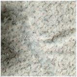 Super-Soft Rose PV Fur with Brush