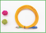 St LC Single Mode Fiber Patch Cable / Optical Jumper Cord