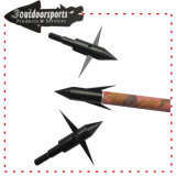 100grains Black Bowfishing Head Archery Target Arrow Point