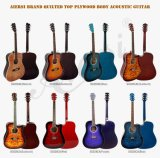 Customized High End Acoustic Guitars From China Factory