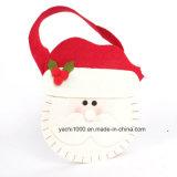 Christmas Snowman and Deer Bag with Felt Fabric