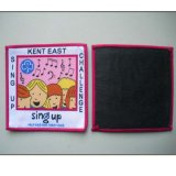 Black Backing and Merrowed Border Promotion Woven Badge