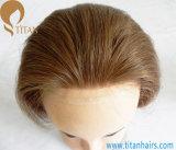 100% Virgin Remy Human Hair Men′s Toupee