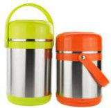 Stainless Steel Lunch Box with Colorful Handle