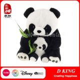 Custom a Set of Two Plush Soft Panda Stuffed Animals